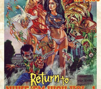 Lloyd Kaufman and Return To Nuke 'Em High Part 1 cast to attend Blu-ray release party at Forbidden Planet