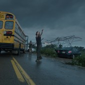 Warner Brothers summer previews for Edge of Tomorrow, Jupiter Ascending and Into the Storm