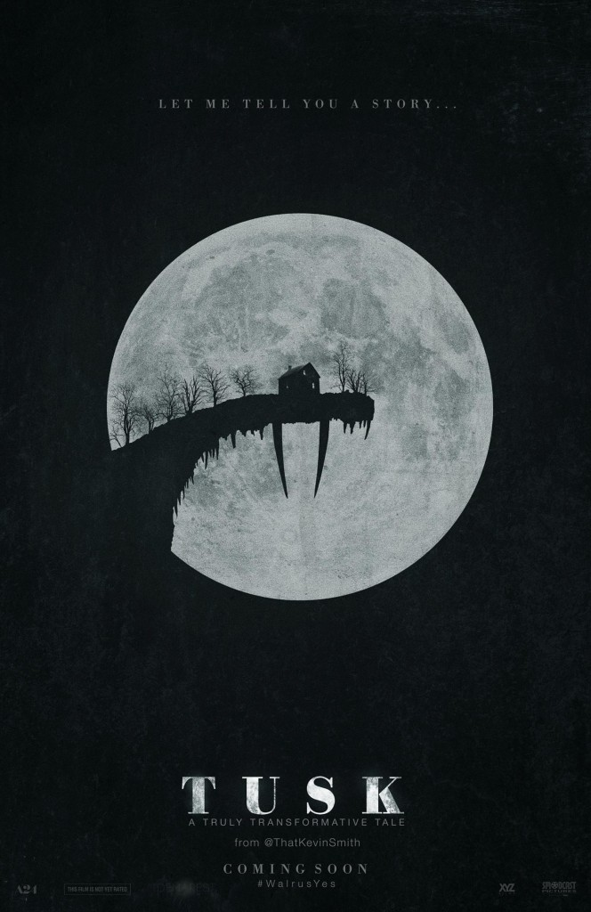 Poster revealed for new Kevin Smith film Tusk