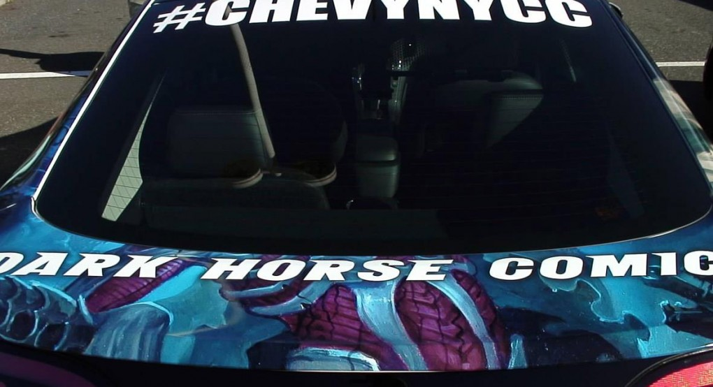Permalink to #ChevyNYCC #NYCC @Chevrolet teams with @Uber for @NY_Comic_Con prizes & promotional rides