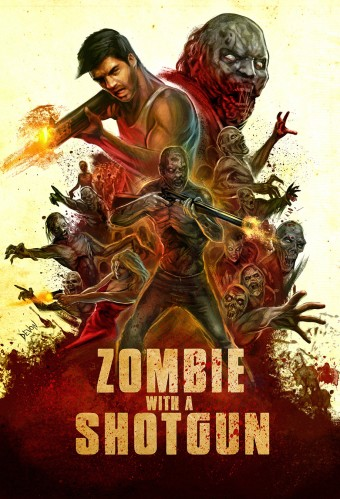 Official poster for horror series Zombie with a Shotgun released