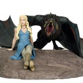 Dark Horse to reveal new Game of Thrones Daenerys Targaryen and Drogon limited edition statue at Toy Fair 2015