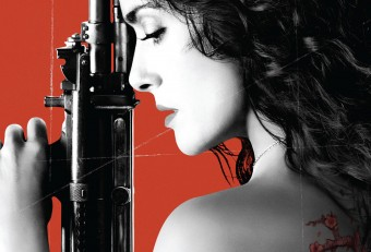 Salma Hayek combats Yakuza-tattooed, sai-toting, RPG-wielding assassins in trailer for Everly