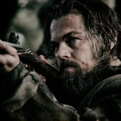 Preview images of Leonardo DiCaprio in deep woods thriller The Revenant