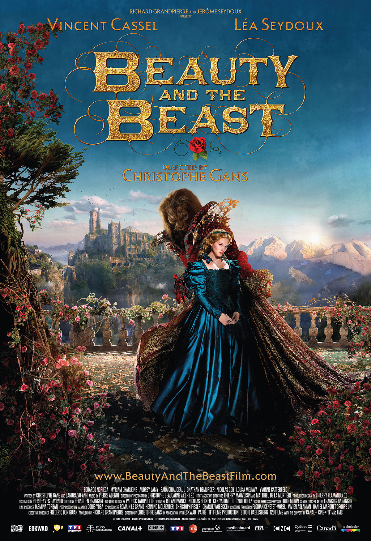 2019 year looks- Beast and the beauty movie poster