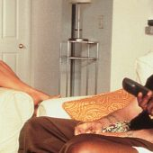 Bridget Fonda, Robert DeNiro & Samuel L. Jackson in Jackie Brown (1997)