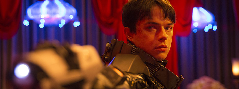Dane DeHaan in Luc Besson's sci-fi thriller Valerian and the City of a Thousand Planets (2017)