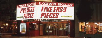 Five Easy Pieces playing at Loew's Holly Theater on Hollywood Boulevard