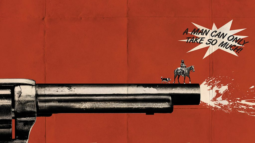 Teaser poster for Ti West western In a Valley of Violence