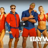 #BeingBaywatch Baywatch trailer takes us back to the beach and back to the 80's; watch the new version of slow boob run in the sun here