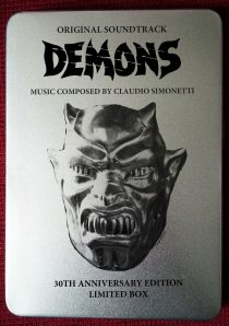 Demons Original Soundtrack Limited Tin Box Edition