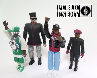 Public Enemy Action Figure Set by PressPop