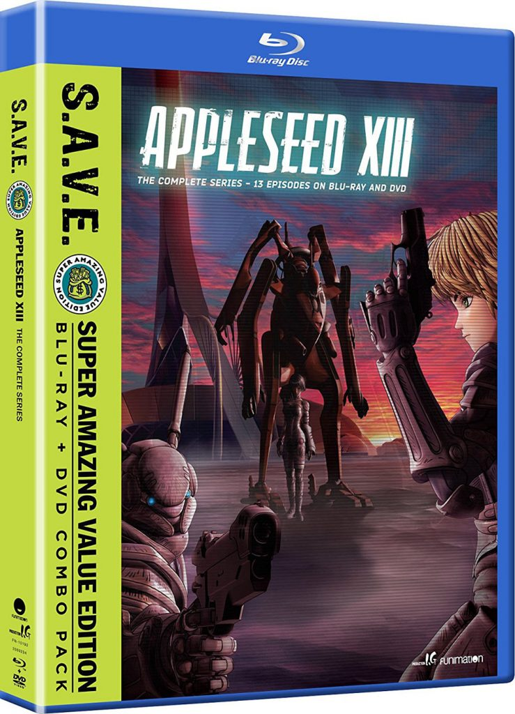 Appleseed XIII: The Complete Series S.A.V.E. Edition Blu-ray + DVD Combo