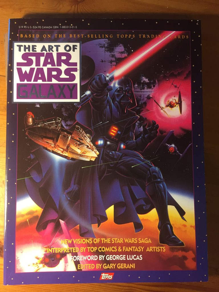 The Art of Star Wars Galaxy (based on Topps Trading Cards) with Howard Chaykin, Geof Darrow, Mike Mignola, Moebius, George Perez, Bill Seinkiewicz + more