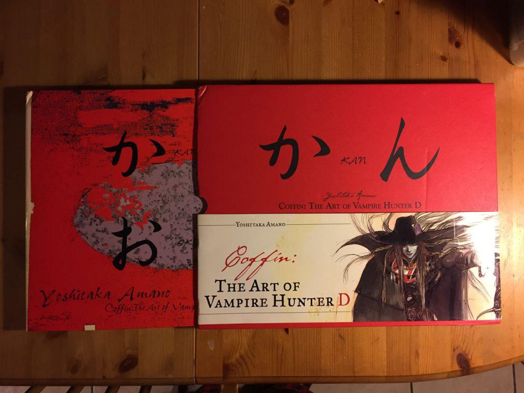 Yoshitaka Amano Coffin: The Art of Vampire Hunter D Art Book