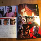 Original A Nightmare on Elm Street 2: Freddy's Revenge Japanese Souvenir Program Magazine (1985)
