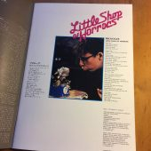 Original Little Shop of Horrors Japanese Souvenir Program Magazine (1987)