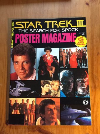 Star Trek III (3): The Search For Spock The Official Poster Magazine