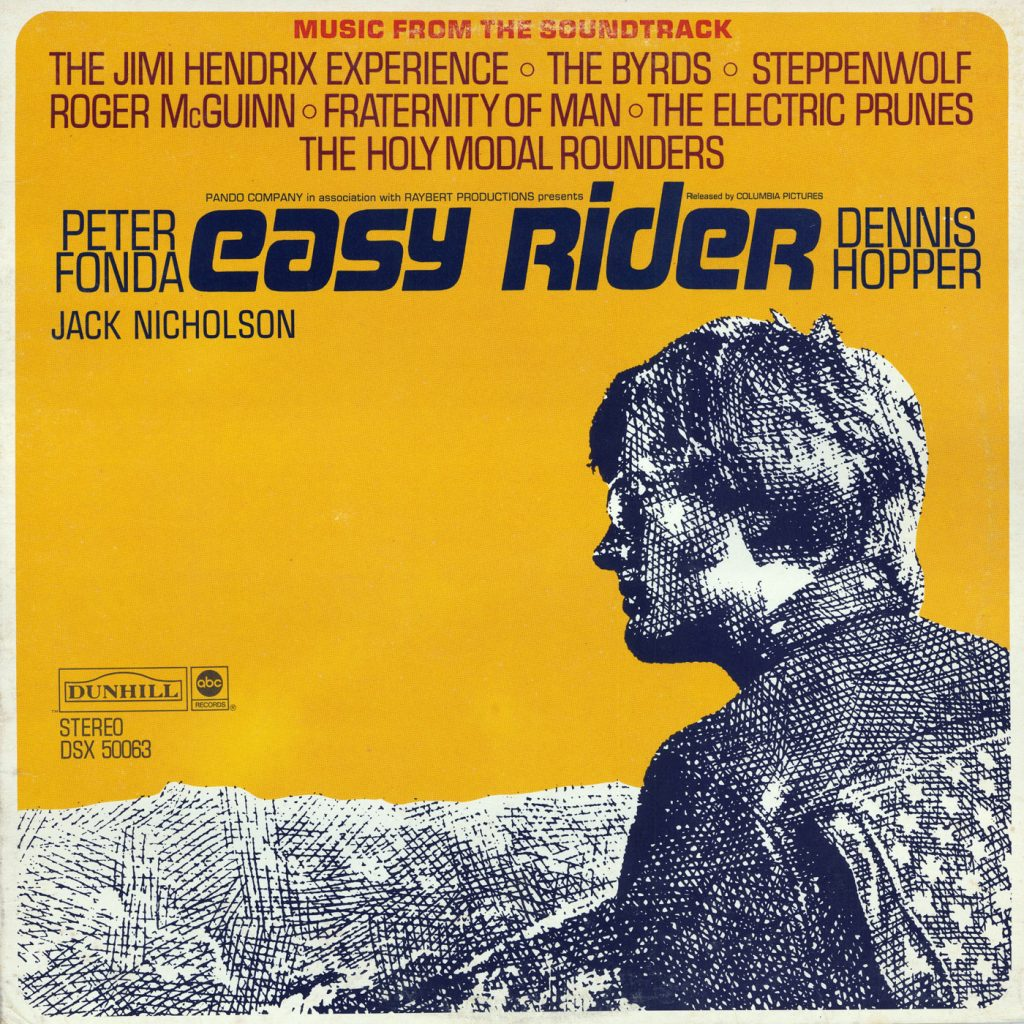 Easy Rider Original Soundtrack Clear Vinyl Re-issue