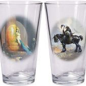 Frank Frazetta Warriors & Women Boxed Pint Glass Sets: Death Dealer and Egyptian Queen