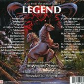 Brandon K. Verrett – Legend: Music From The Motion Picture (featuring Tangerine Dream's electronic score)