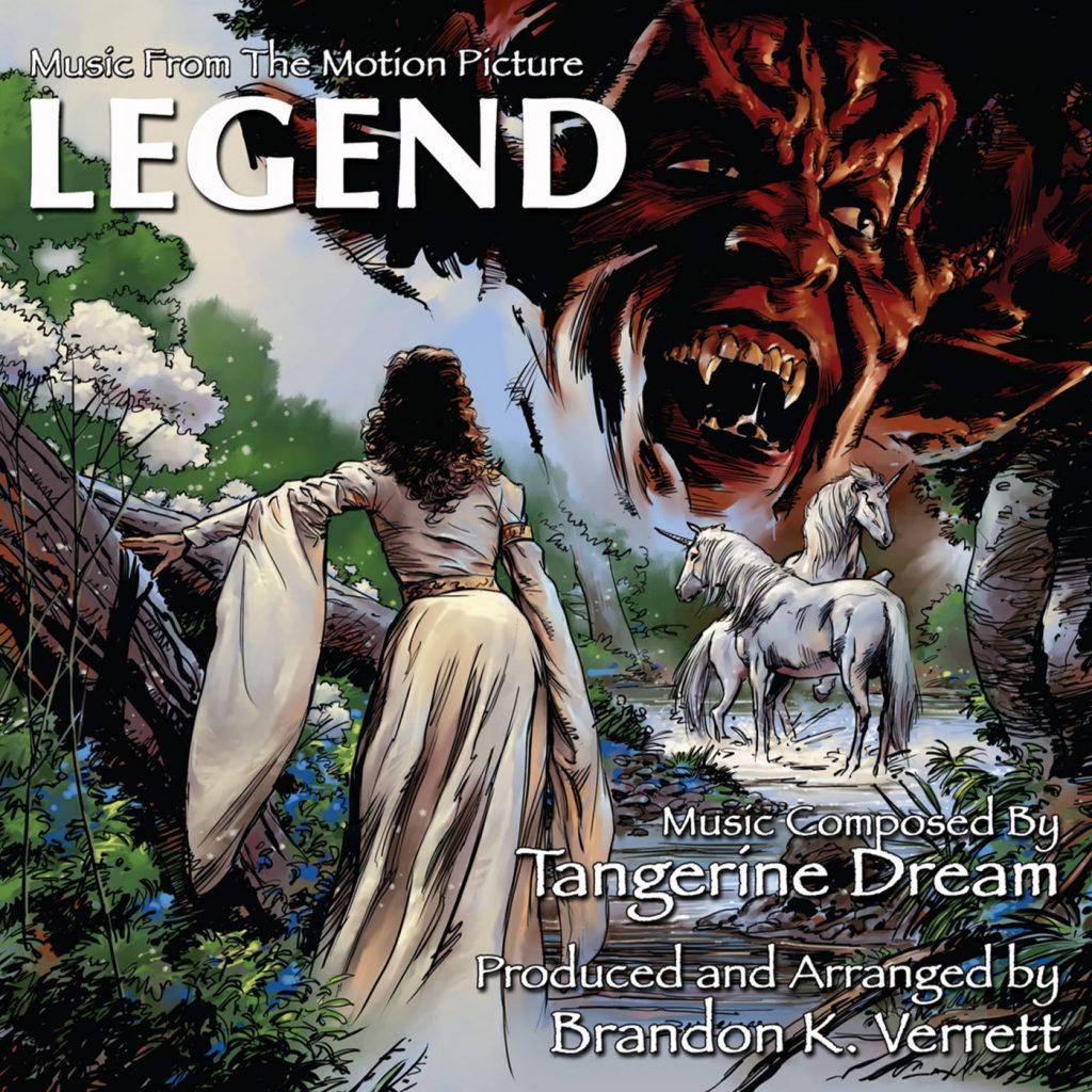Brandon K. Verrett – Legend: Music From The Motion Picture (featuring Tangerine Dream's electronic score)