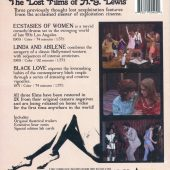 The Lost Films of Herschell Gordon Lewis Blu-ray + DVD Combo