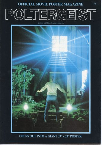 Poltergeist Official Movie Poster Magazine Published by Walkerprint (1982) MGM