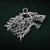 Game of Thrones Stark Direwolf Sigil USB Drives