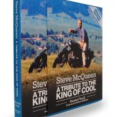 Steve McQueen: A Tribute to the King of Cool Slipcase Limited Edition Signed by Barbara McQueen + Rare Audio CD