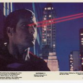Original Superman 2 U.S. Color Still Lobby Card Set of 8 (1981)