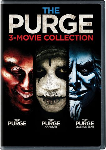 The Purge Trilogy 3-Movie Collection with Slipcover