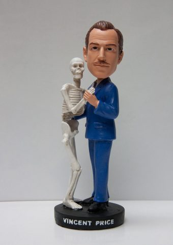 Vincent Price Limited Edition (1,500) Bobblehead Action Figure by Rue Morgue Rippers