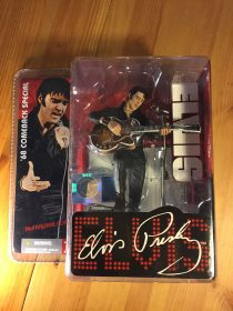 McFarlane Toys Elvis Presley 1968 Comeback Special 50th Anniversary Action Figure