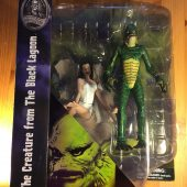 Diamond Select Toys Universal Monsters: The Creature From the Black Lagoon Action Figure with Julie Adams's Kay Lawrence