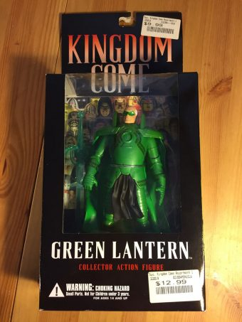 DC Direct Kingdom Come Green Lantern Collector Action Figure Wave 1 Alex Ross (2003)