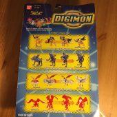 RARE Bandai Digital Digimon Monsters Digivolving Garurumon (Weregarurumon) ID #56 Action Figure with Trading Card (1999)