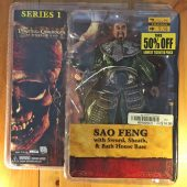 NECA Pirates of the Caribbean: At World's End Sao Feng Action Figure (2007) Chow Yun-Fat