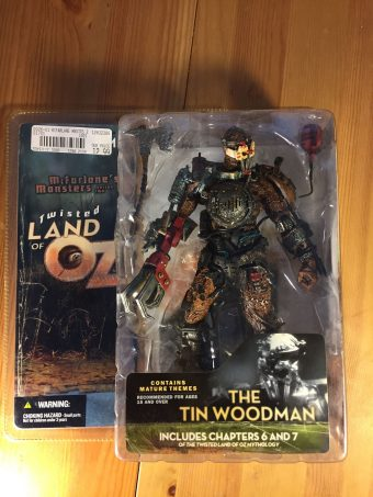 McFarlane Toys Twisted Land of Oz Series Two (2) The Tin Woodman (2003)