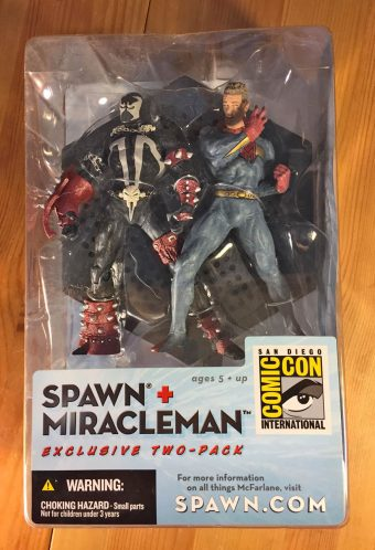 McFarlane Toys Spawn + Miracleman Action Figure 2-Pack San Diego Comic Con 2003 Exclusive