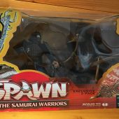 RARE McFarlane Toys Spawn The Samurai Warriors Limited Exclusive 2-Pack Box Set