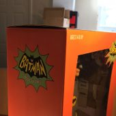 NECA Adam West Batman Classic TV Series 1/4 Scale Action Figure (2014)
