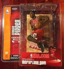 McFarlane Toys Sportspicks NBA Series 6 Scottie Pippen Chicago Bulls Red Uniform Action Figure (2004)