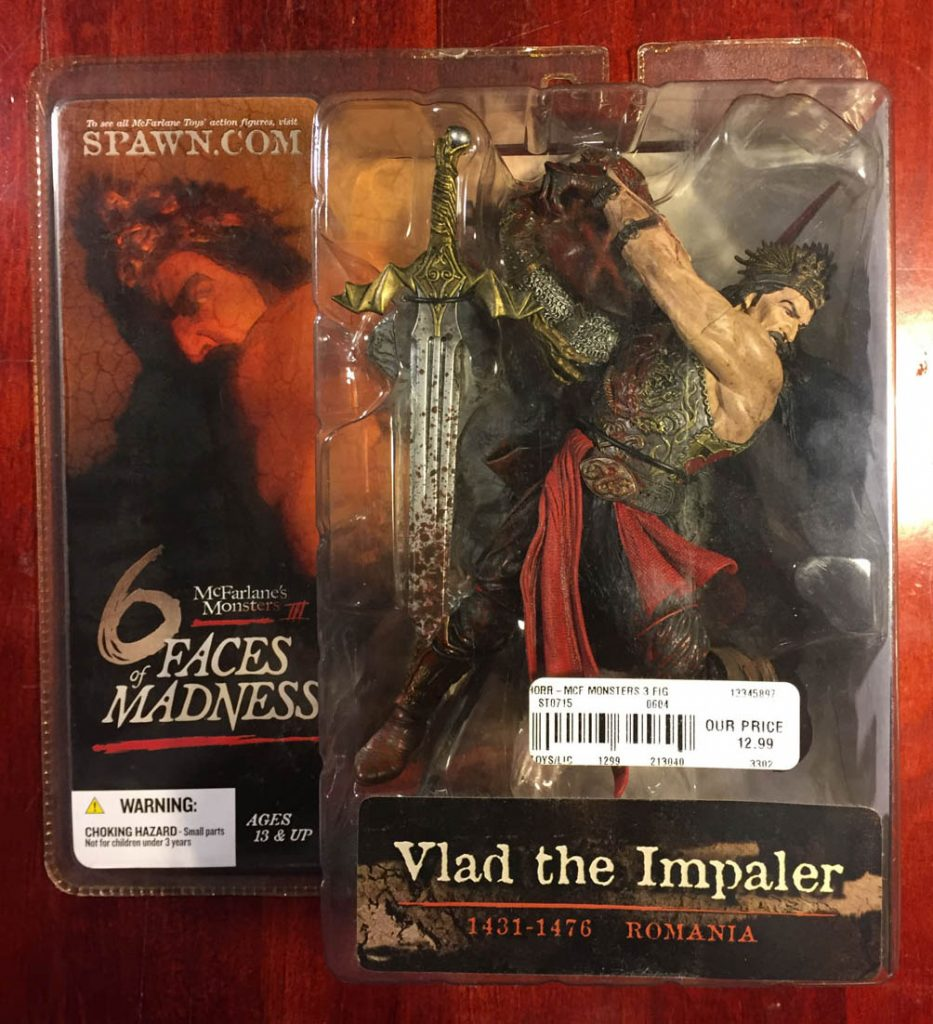 McFarlane Toys Monsters 3 – 6 Faces of Madness Vlad the Impaler Action Figure (2004)