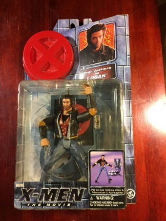 Toy Biz Marvel X-Men the Movie Hugh Jackman as Logan (2000) Action Figure