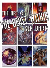 The Art of Ken Barr Limited Hardcover Edition Fantasy Art Book