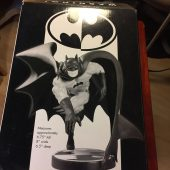 """DC Direct Batman Black and White Statue Limited Edition of 3500 (#0542) Based on Neal Adams Art Sculpted by Jason """"Spyda"""" Adams"""
