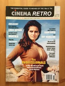Cinema Retro Magazine Volume 12 Issue 36 (2016) – 50th Anniversary of The Professionals starring Burt Lancaster, Lee Marvin, Claudia Cardinale, Robert Ryan, Woody Strode and Jack Palance