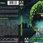 Contamination Arrow Video Blu-ray plus DVD 2-Disc Edition with Booklet