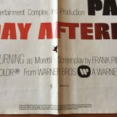 Dog Day Afternoon (1975) Original One Sheet Movie Poster Al Pacino Sidney Lumet